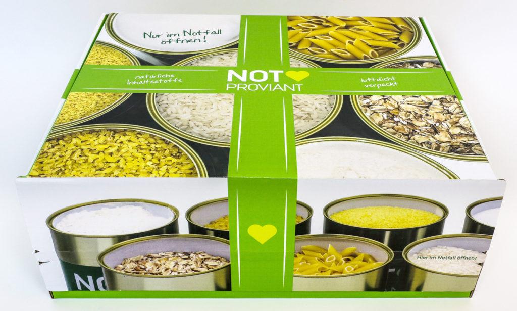Notproviant - Pakete für die Krisenvorsorge